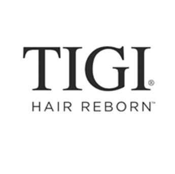 Logo de la marca Tigi