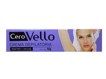 Imagen de Crema Depilatoria para Rostro y Axilas Cerovello 40 gr