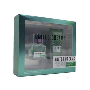 Imagen de Benetton Be Strong Edt 60 ml + After 100 ml