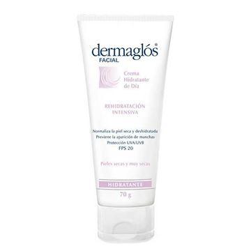 Imagen de Crema Hidratante de Día 70 ml Dermaglos Rehidratación Intensiva