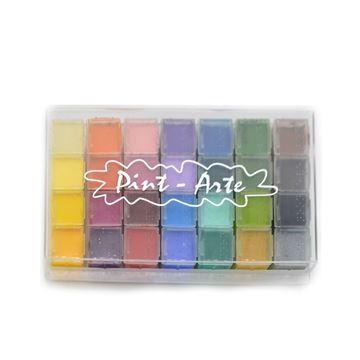 Imagen de Maquillaje Artistico Profesional Petaca de 28 Colores