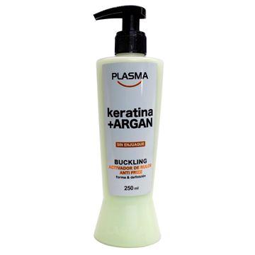 Imagen de Buckling Keratina+Argan Anti Frizz 250 ml Plasma