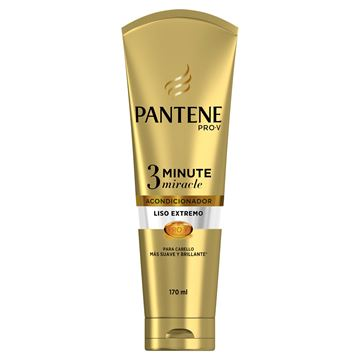 Imagen de Acondicionador Pantene 3 Minutos 170 ml Liso Extremo