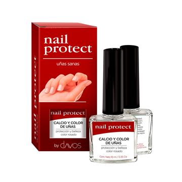 Imagen de Calcio y Color Blanco de Uñas Nail Protect 10 ml