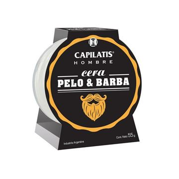 Imagen de Cera Pelo & Barba Capilatis Hombre 55 ml