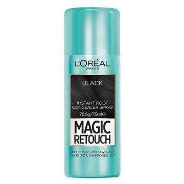 Imagen de Retocador de Raíces Loreal Magic Retouch 75 ml Negro