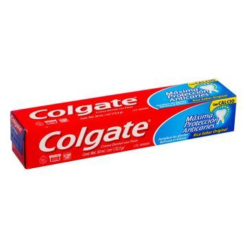 Imagen de Crema Dental Colgate Máxima Protección Anticaries Calcio 50 ml