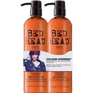 Imagen de Shampoo y Acondicionador Tigi Bed Head Colour Goddess 750 ml