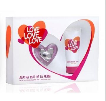 Imagen de A.Ruiz De La Prada Love Love Love Edt 50 ml + Body Lotion 100 ml