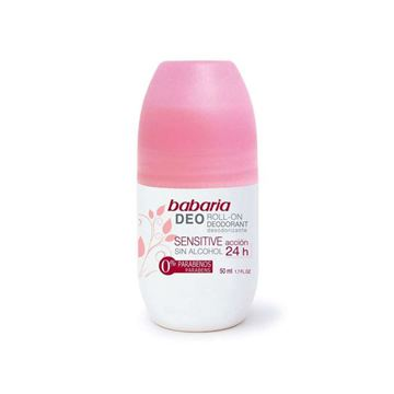 Imagen de Babaria Desodorante Sensitive Woman Roll-On 50ml