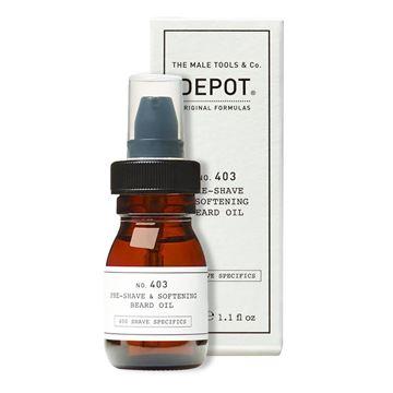 Imagen de Aceite Depot 30 ml Pre Afeitado y Suavizante de Barba