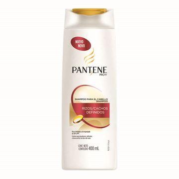 Imagen de Pantene Shampoo 400 ml Rizos Definidos + Crema  peinar