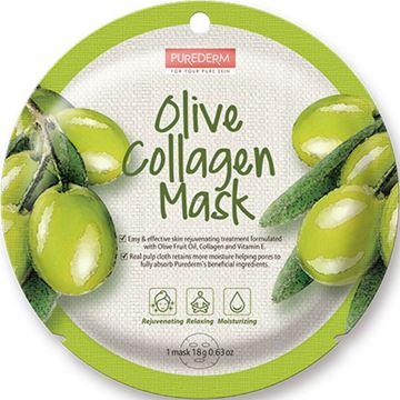Imagen de Máscara de Colágeno con Oliva Purederm
