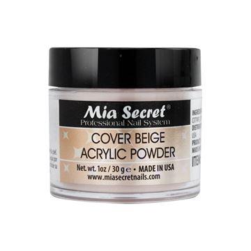 Imagen de Acrilico Cover Beige Mia Secret 30grs / Uñas Esculpidas