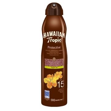 Imagen de Aceite Seco De Argan Hawaiian Tropic  FPS 15