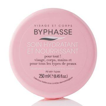 Imagen de Crema Hidratante para Rostro y Cuerpo Byphasse 250 ml