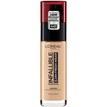 Imagen de Base Loreal Infallible 24H Fresh Wear N°445