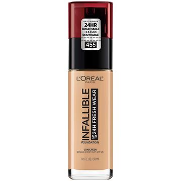 Imagen de Base Loreal Infallible 24H Fresh Wear N°455