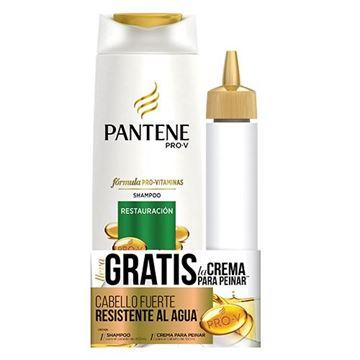 Imagen de Pack Pantane Restauracion Shampoo x 400 + Crema 160 ml.