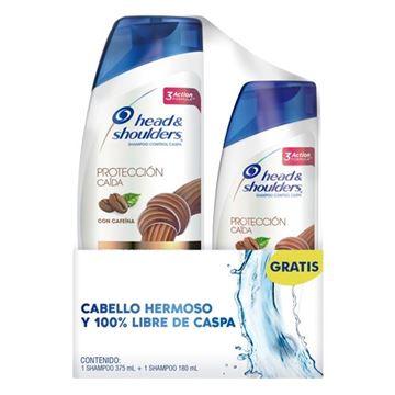 Imagen de Pack Head Shoulders Shampoo 375 ml. Proteccion Caida