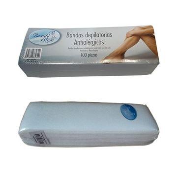 Imagen de Bandas depilatorias antialergicas