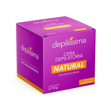 Imagen de Cera Depilatoria Natural Repuesto Depilíssima 110 gr