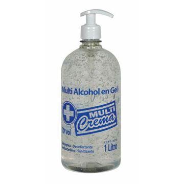 Imagen de Alcohol en Gel Multicrema 1 lt