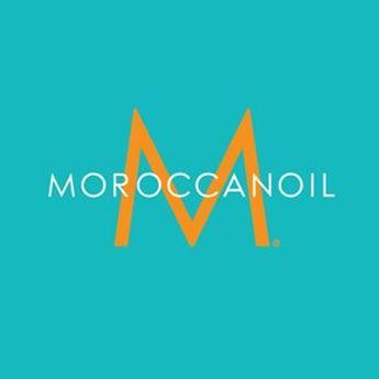 Logo de la marca Moroccanoil