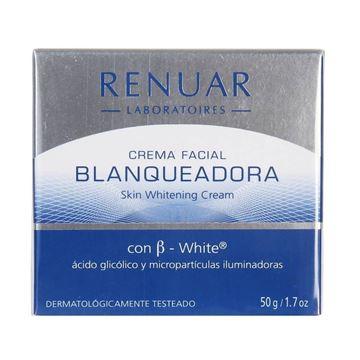 Imagen de Crema Facial Blanqueadora Renuar 50 ml
