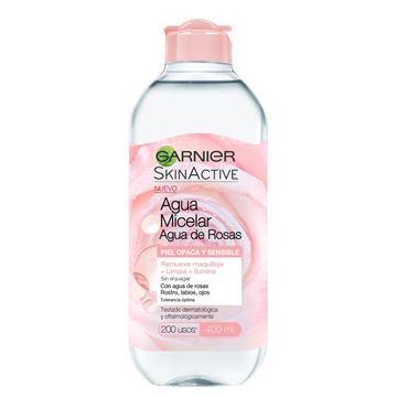 Imagen de Agua Micelar Garnier Agua de Rosas 400 ml