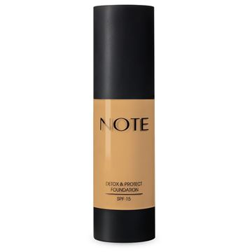Imagen de Base Note Detox & Protect Foundation N°05 Honey Beige