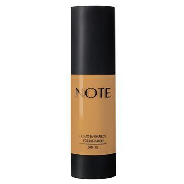 Imagen de Base Note Detox & Protect Foundation N°06 Dark Honey