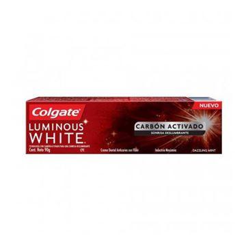 Imagen de Crema Dental Colgate Luminous White Carbon Activado 90 gr