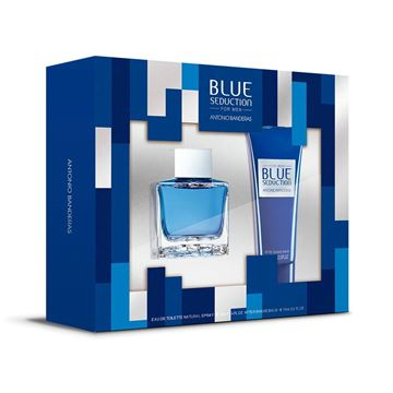 Imagen de Set Antonio Banderas Blue Seduction Men Edt 100 ml + A.Shave