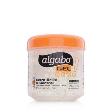 Imagen de Gel Algabo N°3 Extra Brillo y Control 350 g