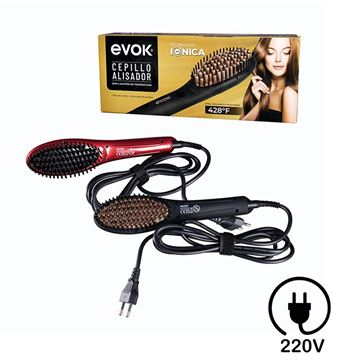 Imagen de Cepillo Alisador Electrico Evok X8333-220