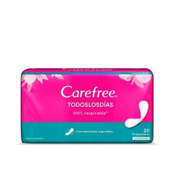 Imagen de Protectores Diarios Carefree Todos los Dias sin Perfume 20 u