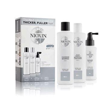 Imagen de Pack Nioxin N°1 Shampoo + Acondicionador + Tratamiento
