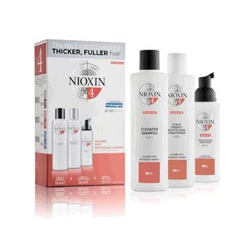 Imagen de Pack Nioxin N°4 Shampoo + Acondicionador + Tratamiento