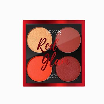 Imagen de Paleta de Rubor Nicka K Red Glam